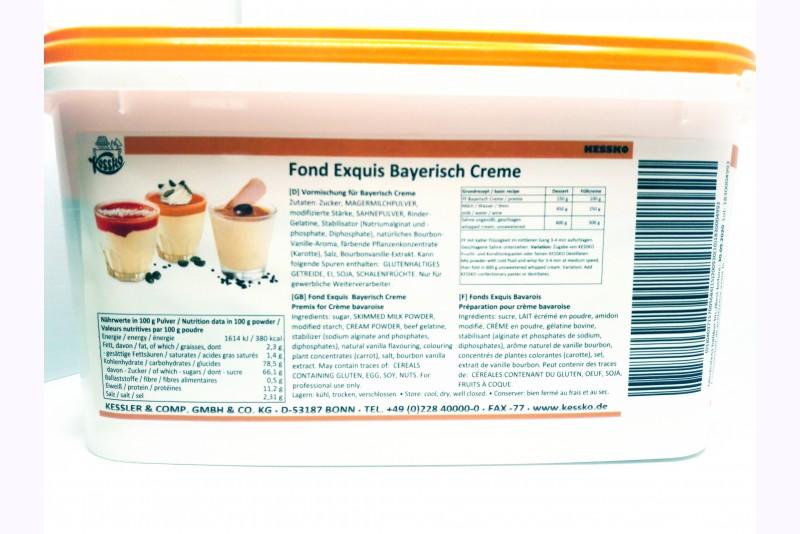 Bayerisch Creme Krēma pulveris 3kg