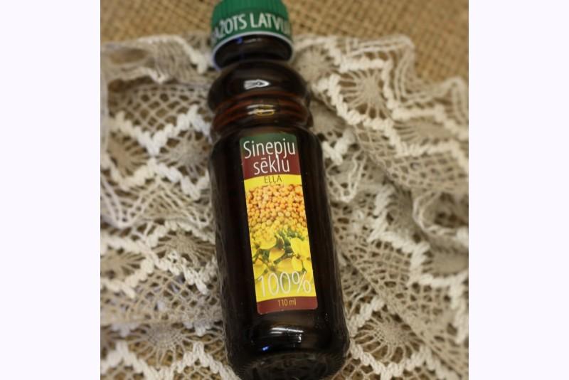 Sinepju sēklu eļļa 100% (110ml)