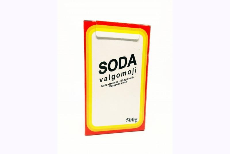Soda dzeramā (E500)