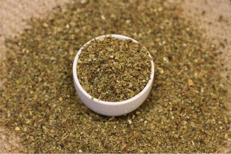 Zaļā paprika granulas 3*3 mm