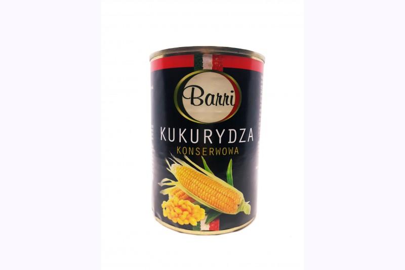 Kukurūza konservēta Barri 400g